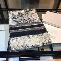 Design donna cashmere sciarpa uomini e donne sciarpe invernali sciarpe signore scialli grandi lettera modello lana paesaggio stampa animale pashminas 70cm x 180 cm