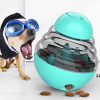 Alimentadores de mascotas interactivas Mascotas Tratamiento de alimentos Bolígrafos Toy Toy Dog Shaking Contenedor de fugas Puppy Cat Feed Feed Cats Tumbler Feeder HWF7886