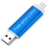 USB2.0 Free print LOGO Usb Flash Drive 8GB 16GB 64GB 128GB Pendrive OTG Smart Phone Cle Usb Stick 2.0 32GB Flash Memory