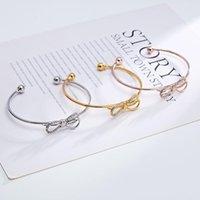 Cadeau de demoiselle d'honneur bracelet de noeud bracelet de noeud papillon petite amie Prière la faveur et la fête
