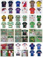 Schottland Retro Fussball Trikots 82 83 84 87 90 92 93 94 95 96 97 98 99 01 08 Gerrard Gascoigne Laudatum Albertz McCoist Celtic FC Football-Hemd Uniformen
