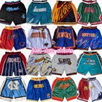 NouveauYorkKnicks IndianaPacers PhoenixSoleilPortulairePisteBlazer SacramentoKing Just Basketball Shorts Don