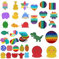 2021 Verkauf von Squeeze Toy Push Bubble Fidget Toys Party Favor Pop IT Autismus Sonderanforderungen Stresseinlagerung und den Fokus erhöhen