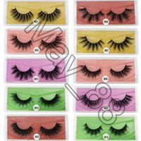 3D Mink Eyelashes Wholesale Natural False Eyelashe M i n k Lashes Soft make up Extension Makeup Fake Eye Lash es
