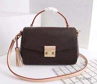 Luxurys Дизайнеры Сумки Classic Bag Bag Stote Twist Сумка Messenger Корзина для покупок Карманы Косметика M41581