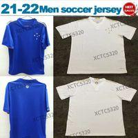 2021 Cruzeiro Esporte Clube Soccer Jersey Home Blue Away Bianco Brasileiro Serie Una camicia da calcio in vendita
