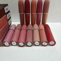 Lip Gloss Matte 12 colori Trucco Lustro Retro Rossetti Gelo Sexy 4.5G