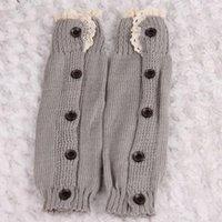 Miúdos Girl Crochet de malha laço boot algemas toppers teamer meias