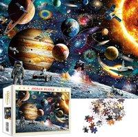 Quebra-cabeças 1000 peça para adultos, Mars Landing Puzzle, Quebra-cabeças Para Adultos 1000 Piece, Espaço Tema Dream Home Decoração