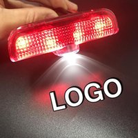 8Pairs LED Logo Light Car Door Warning Nameplate Badge Projector Lamp Shadow Welcome Auto Tuning Accessories Interior&External Lights