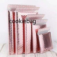 2021F Express Bubble Envelop Bag Logistics packaging Rose Gold Foil Mailer Gift Packaging Wedding Favor Film mylar 51
