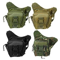 Military Tactical Shoulder Waist Bag Waterproof Outdoor Sac ...