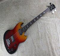 2021 SG Bass Guitare 4 Strings Instruments de musique de haute qualité Vente