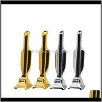 파이프 Hooter 후버 SnuffsNorter 트로피 모양 금속 스너프 튜브 블랙 골드 슬리버 컬러 연기 파이프 흡연 액세서리 4yha E1 D4H JSQM4
