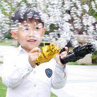 Party Decoration Est Bubble Gum Machine Toys Kids Toy Bath Plastic Gun Boy Bubbles For Kid Gifts