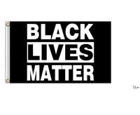 Black Lives Matter Flag Banner Supplies For Outdoor BLM Peace Protest Outdoor Banner Bracelet NHF10075