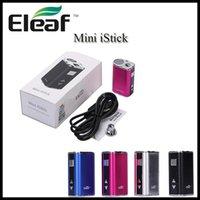 Eleaf Mini Istick 10W 1050mAh Batería Ultra Compacto VV Caja MOD Variable Voltaje Oled Pantalla Pantalla E Cigarrillos Batería