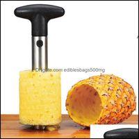 Fruit Vegetable Kitchen, Dining Bar Home & Gardenfruit Tools Stainless Steel Pine Peeler Cutter Slicer Corer Peel Core Knife Gadget Kitchen