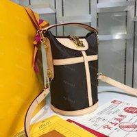 حقيبة جلدية الكتف M43587 حقيبة يد جلد البقر الترفيه حقائب اليد نونو فاخرة واحدة واق jxrdb
