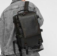 Homens mulheres couro mochilas viajar multi masculino mochila militar estilo camuflagem laptop luxurys saco escola faculdade
