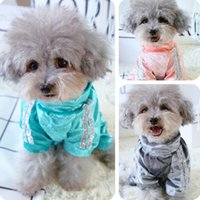 Dog Apparel Velvet Autumn Sweatshirt Overall Pink Green XS XXL Pet Puppy Pug Yorki Dachshund In Breeds Animal Clothing
