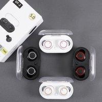DT-2 TWS Fone de ouvido 5.0 fone de ouvido Bluetooth 3D fone de ouvido sem fio estéreo com microfone duplo 5.0 fone de ouvido handfree handfree esporte
