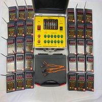 120 Cues Bilusocn Fiesta Suministros Fireworks Remoto Sistema de Fuego Radio Festivo Efectos especiales 500m Distancia 433MHz CE FCC Machin Entregar un conjunto / lote