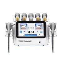 Taşınabilir 7D UltraMage HIFU Kırışıklık Karşıtı Vücut Zayıflama Cilt Sıkılaştırıcı Yağ Temizleme Makinesi Ultraformers III 3