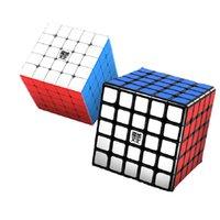 2021 أحدث moyu aochuang 5x5 wr m cubing سرعة aochuang wrm 5x5x5 المغناطيسي المغناطيسي لغز cubo magico المنافسة الاطفال اللعب
