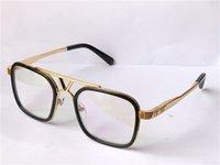 Последние продажи поп-мода дизайн оптические очки квадратная рамка 0947 высочайшего качества HD прозрачный объектив с чехол простым стилем