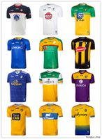 Irland GAA Rugby Jerseys Antrim Offaly Donegal Clare Gaelic Football Jersey Kildare Kilkenny Carlow Longford shirts New-York Roscommon Cork