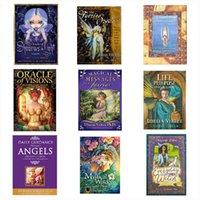 Jeux de carte Tarot Cartes Deck Anglais Tarots Dessin animé Divination Oracle Enfants Cadeau 16 Styles Z2934