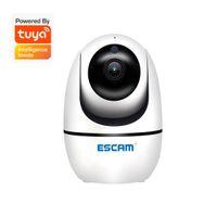 Escam TY002 2MP 1080P دعم Tuya اللاسلكية إنترفون PTZ كاميرا IP AI الرؤوس كشف الحركة التلقائي تتبع CCTV