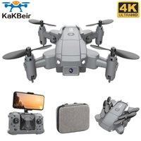 Kakbeir KY905 Mini Drone Ile 4 K Cam HD Katlanabilir Drones Quadcopter Tek Anahtar Dönüş FPV Beni Takip et RC Helikopter Quadrocopter Oyuncaklar