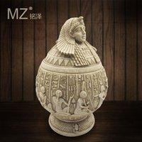 الراتنج الحلي المجوهرات المصرية تخزين مربع الحجر الرملي الرئيسية الهدايا الإبداعية العملية 12241