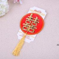 중국 아시아 테마 더블 행복 병 오프너 파티 웨딩 경품 호의 HWD8707