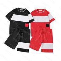T-shirt masculino de alta qualidade casual respirável verão manga curta tops shorts e tees pólos esportes ao ar livre splittable vermelho ou preto tamanho asiático s-2xl s