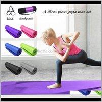 Yoga Mat Kalınlaşmış Güvenli Antislip Spor Spor Pedleri Acemi Çevre Spor Jimnastik Paspaslar XFK7D 1I3E4