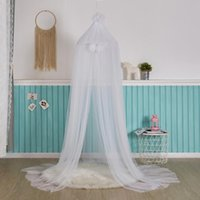 Crib Netting 2021 Baby Mosquito Net For Hung Dome Bedding Bed Canopy Tent Curtain Shading Cloth Girls Princess Room Decor