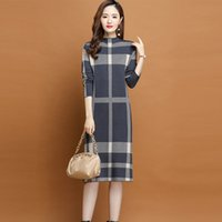 Luxury Designer Runway Elegant Sweaters Long Sleeve 2021 Autumn Winter Women Fashion Striped Knitted Pullovers Coat Sweet Office Cafe Party Casual Female Clothes
