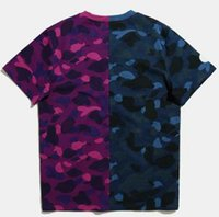 Fashion Camouflage Mens Designer T-shirt Summer Letters Stampa Tee Shirts For Men Donne Casual Tees Top manica corta di lusso