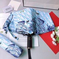 太陽の3つの折りたたみ傘椿ギフトボックスサニー傘二重目的折りたたみ日焼け止めと紫外線サンシェードSD002