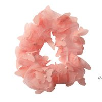 Hair Ring Net yarn butterfly head rope Hairbands Accessories...