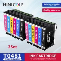 Inktcartridges Hinicole T0481-T0486 met Arc-chip voor stylus PO R200 R300 R300M R320 R340 RX500 RX600 RX620 vol