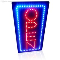 """Wholesale -19 """"X9 .5 """"Animated Motion Led Sign Board Open Led Neon Sign Flashing And Change Colors Led Sign Board On  Off Switch For"""