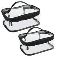 Storage Bags Makeup Travel Must-Transparent Materproof Pouch Portable Cosmetic Wash Bath Kit Bag Case Organizer Handbag