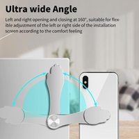 Clip On Monitor Laptop Side Mount Magnetic Cellphone Phone Stand Holder Expansion Bracket Flat Slim Universal Holde Cell Mounts & Holders