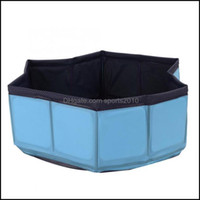 Dog Supplies Home & Gardendog Grooming Pet Bathtub Cat No Inflation Pvc Foldable Shower Water Pool Bathing Tub Supply Comfortable Drop Deliv