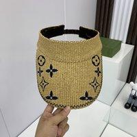 Moda Tasarımcısı Kapaklar Erkek Kadın Yaz Plaj Tasarımcılar Cap Cappelli Firmati Yüksek Kalite Sunhat Lüks Şapkalar