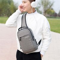 Backpack NINDOT Dual Functional Mochilas Women Single Strap Chest Pack Bag Female Small Canvas Waist High Grade Men's Bags Free Holograms